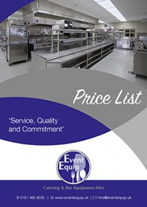 catering equipment hire brochure