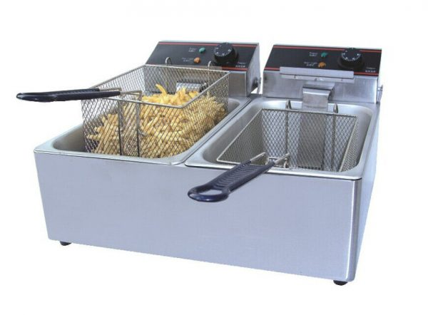 hire a double table top fryer