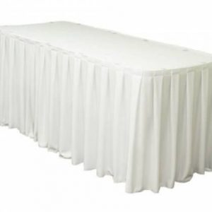 hire white table cloth