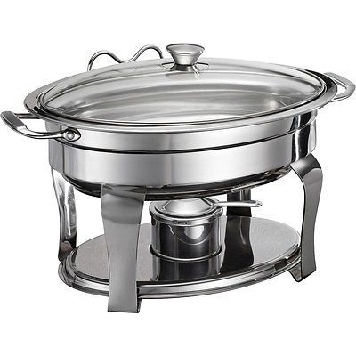 hire a oval chafing dishes